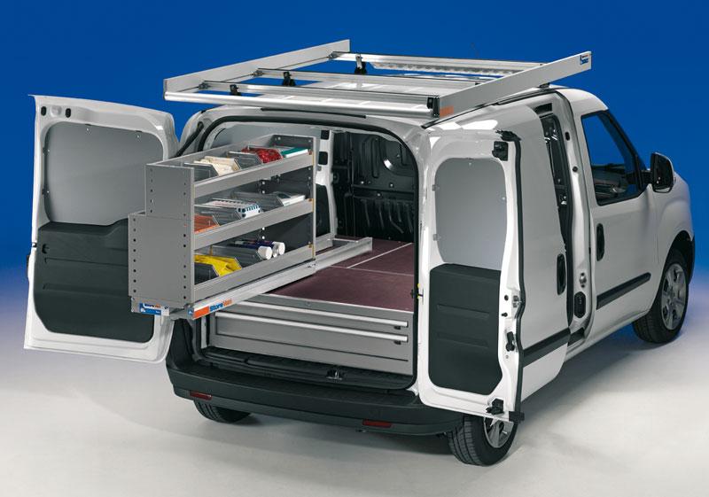 Aménagement extractible coulissant véhicule utilitaire