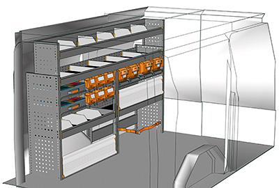 am nagement custom l1h1 agencement ford transit custom l1. Black Bedroom Furniture Sets. Home Design Ideas