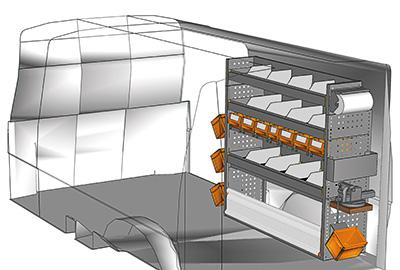 Aménagement Transporter TS 1212-01