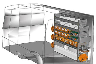 Aménagement Transporter TS 1212-03