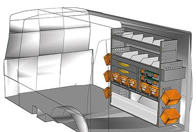 Aménagement Transporter TS 1212-04
