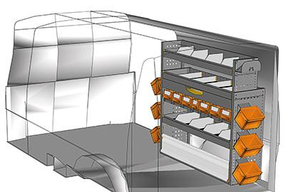 Aménagement Transporter TS 1212-09