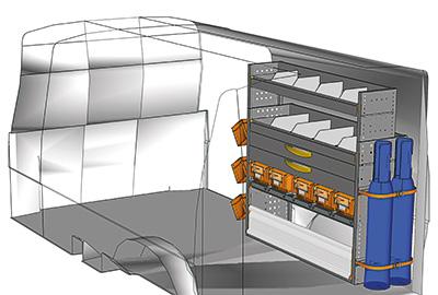 Aménagement Transporter TS 1212-10