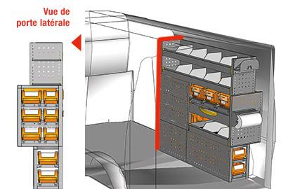 Aménagement Transporter TS 1212-05