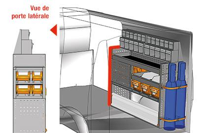 Aménagement Transporter TS 1212-07