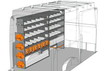 Aménagements Volkswagen Crafter 2017 CR 2717 01
