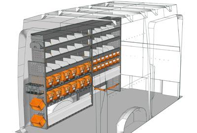 Aménagements Volkswagen Crafter 2017 2717 02