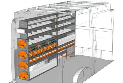 Aménagements Volkswagen Crafter 2017 CR 2717 03